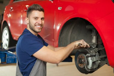 Fixing a car brakes