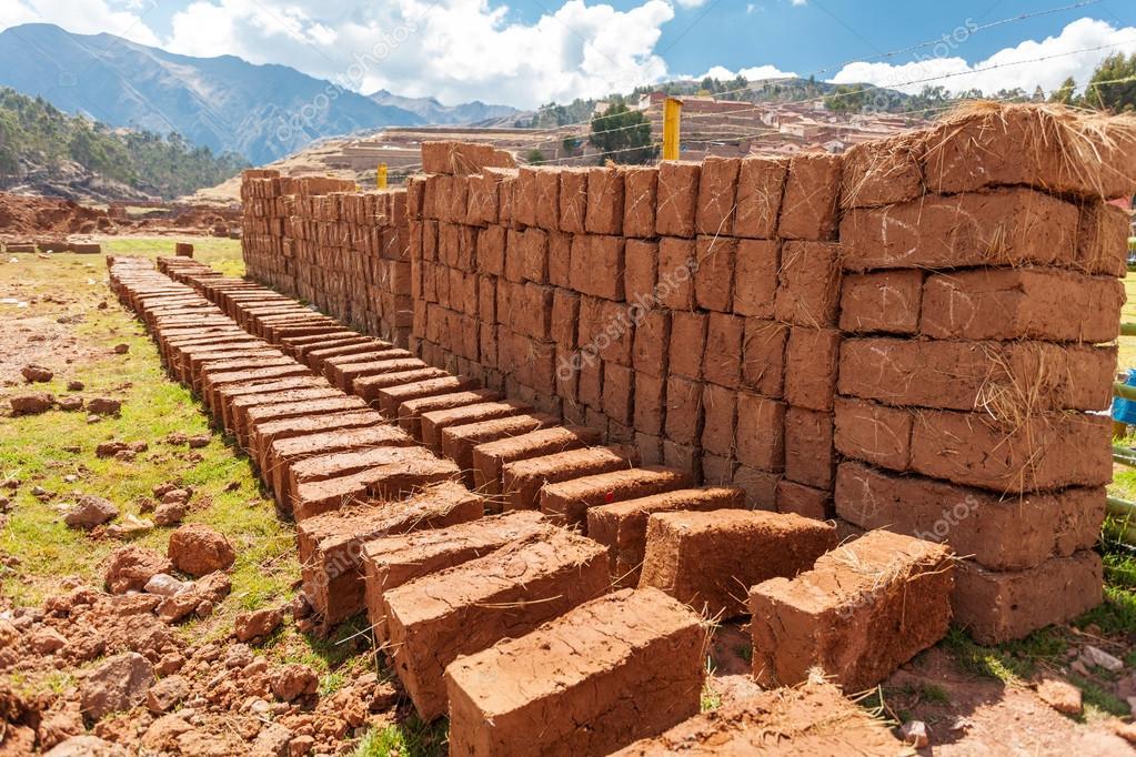 tipos de tijolos adobe