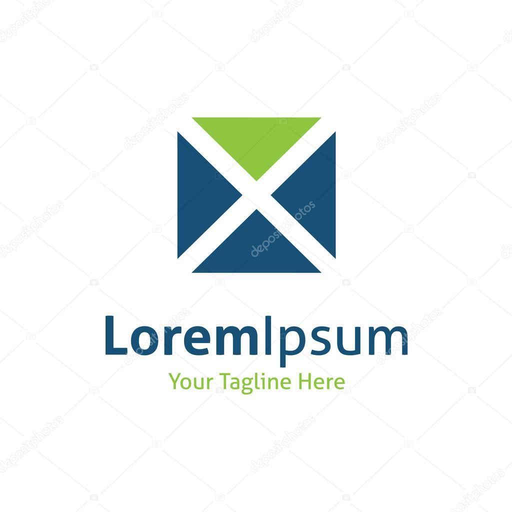 Science technology progress industry arrow logo logotype icon vector