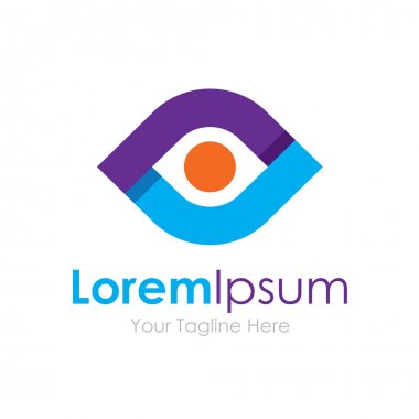 Creative vision elegant eye concept elements icon logo