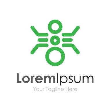 Future of bio exploration technology initiative concept elements icon logo