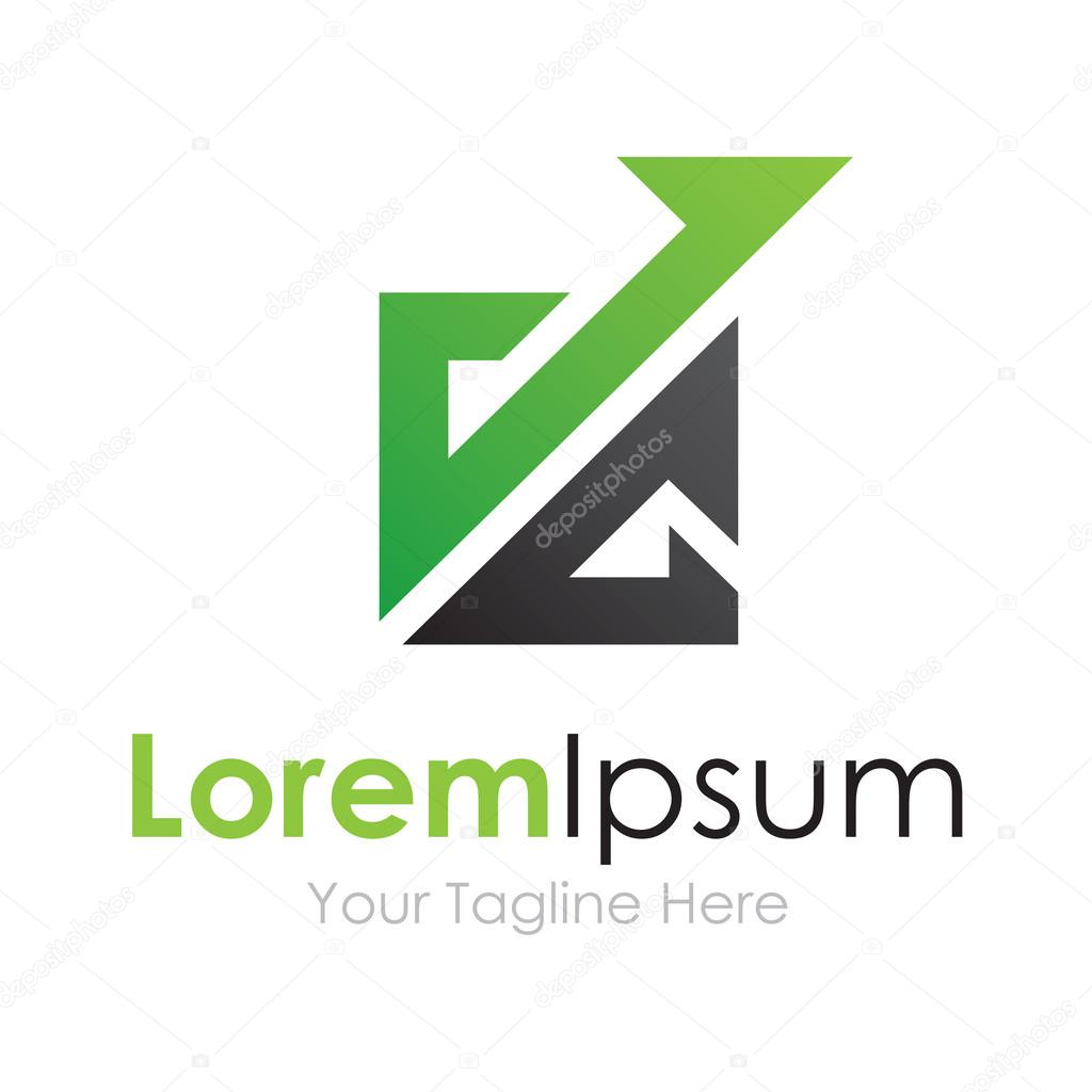 Banking system productivity bussiness element icon logo