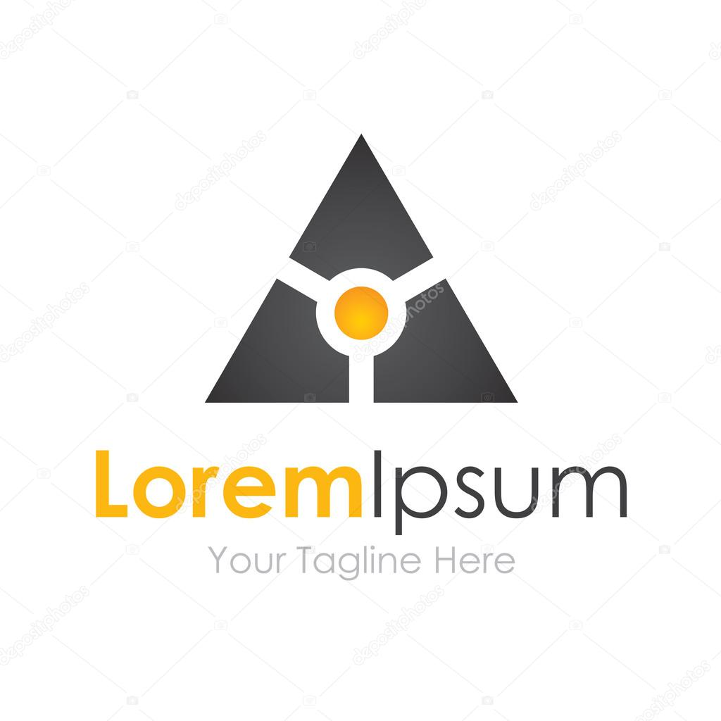 Smart black technology futuristic bussiness element icon logo