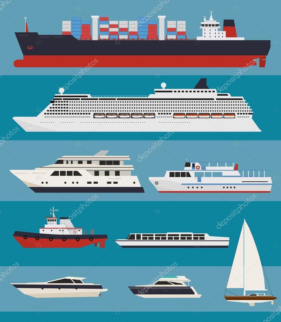 Infografica del trasporto d'acqua vettoriale