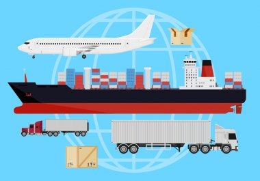 Shipping vehicles composition