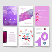 Templates. Design Set of Web, Mail, Brochures. Mobile, Technology, Infographic Concept. Modern flat and line icons. App UI interface mockup. Web ux design.