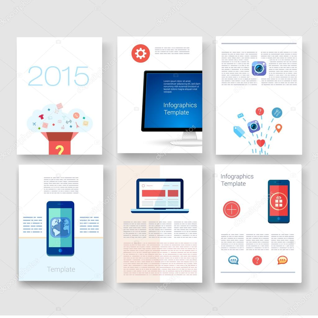 Templates  Design Set of Web, Mail, Brochures  Mobile