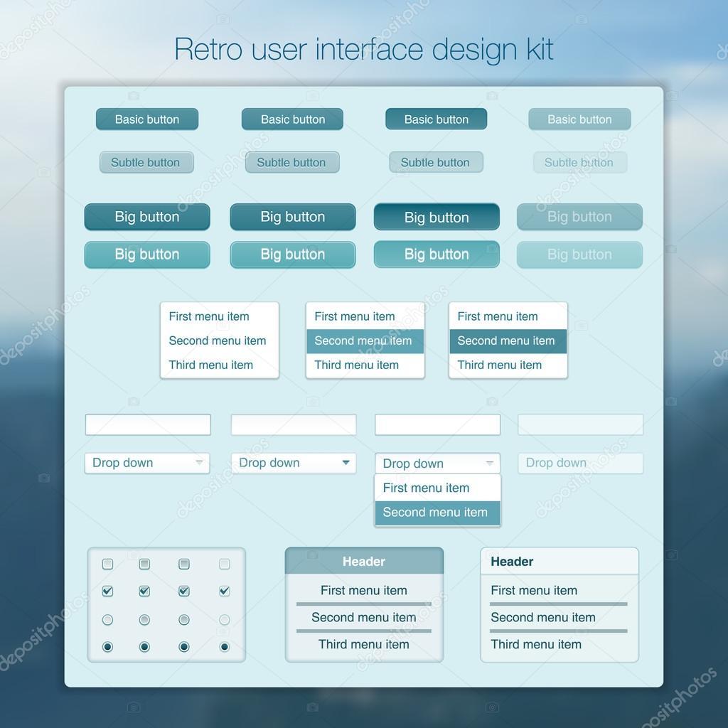 Plantilla de interfaz de usuario moderna pantalla para móvil ...