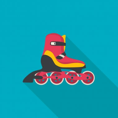 Roller skate vector.