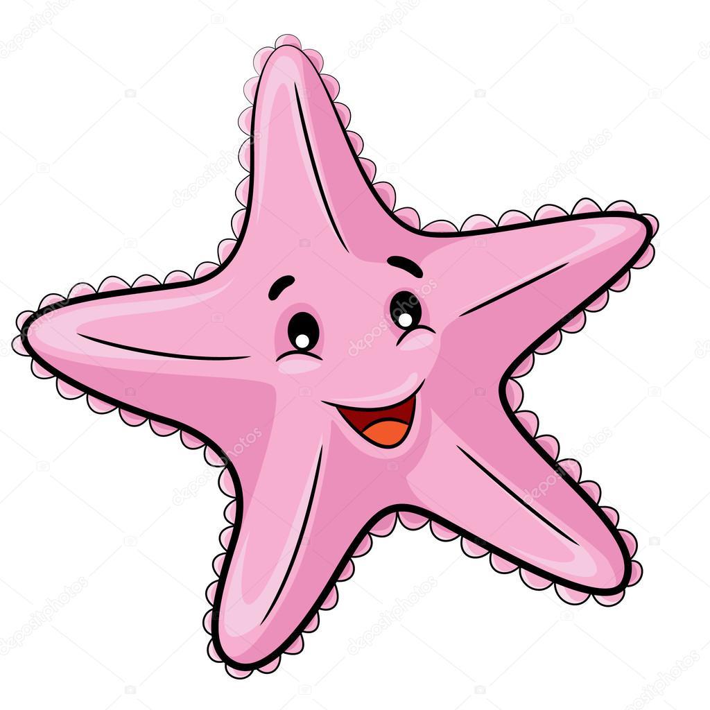 Открытка, картинки морские звезды из мультиков