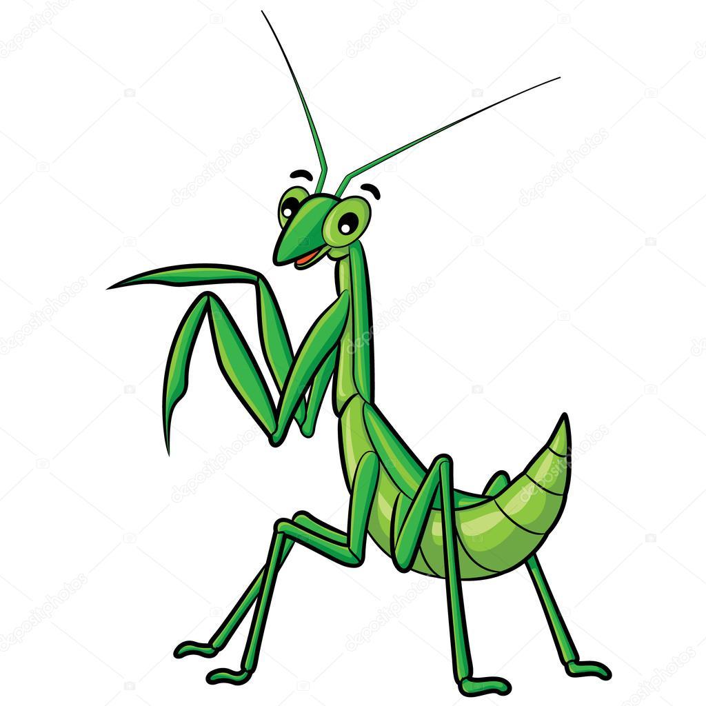 praying mantis cartoon stock vector rubynurbaidi 63860415 rh depositphotos com praying mantis clipart free praying mantis clipart