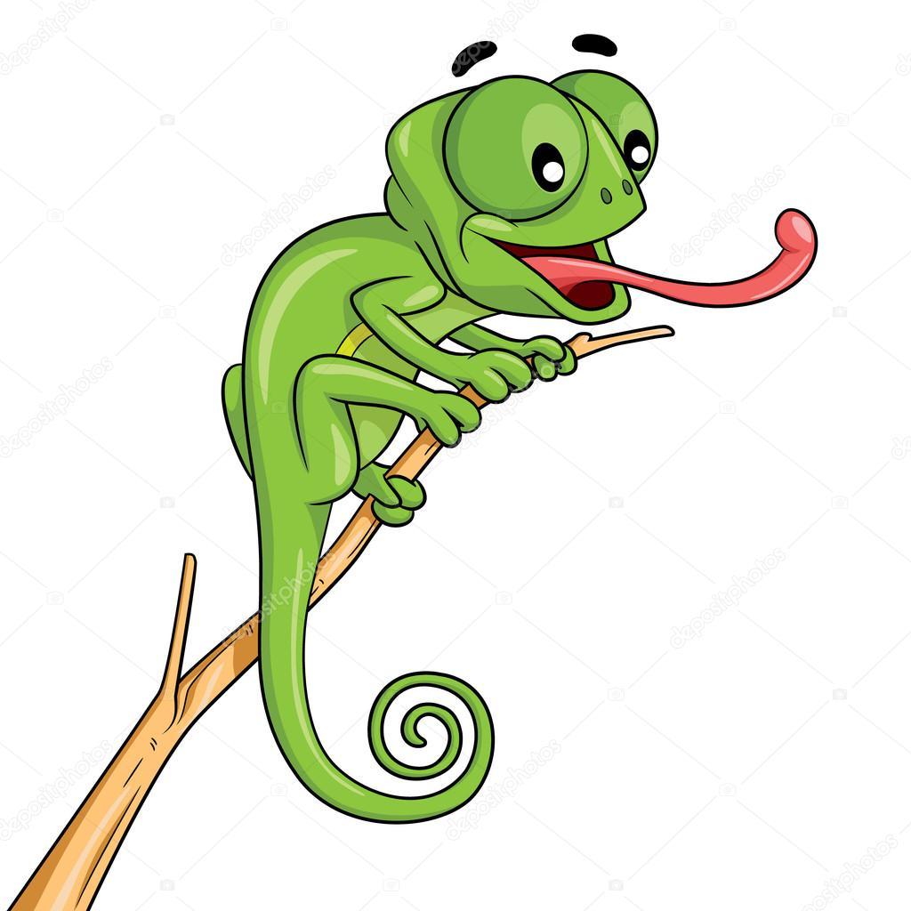 desenho de camaleão vetor de stock rubynurbaidi 83743542