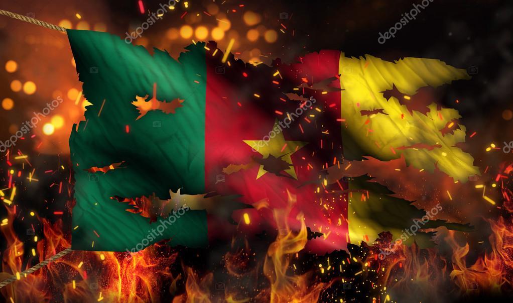 картинки флаг в огне производитель