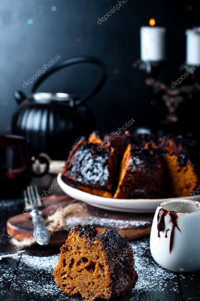 Kuchen Mit Marmelade Und Schokolade Stockfoto C Lyulka 86 90534900
