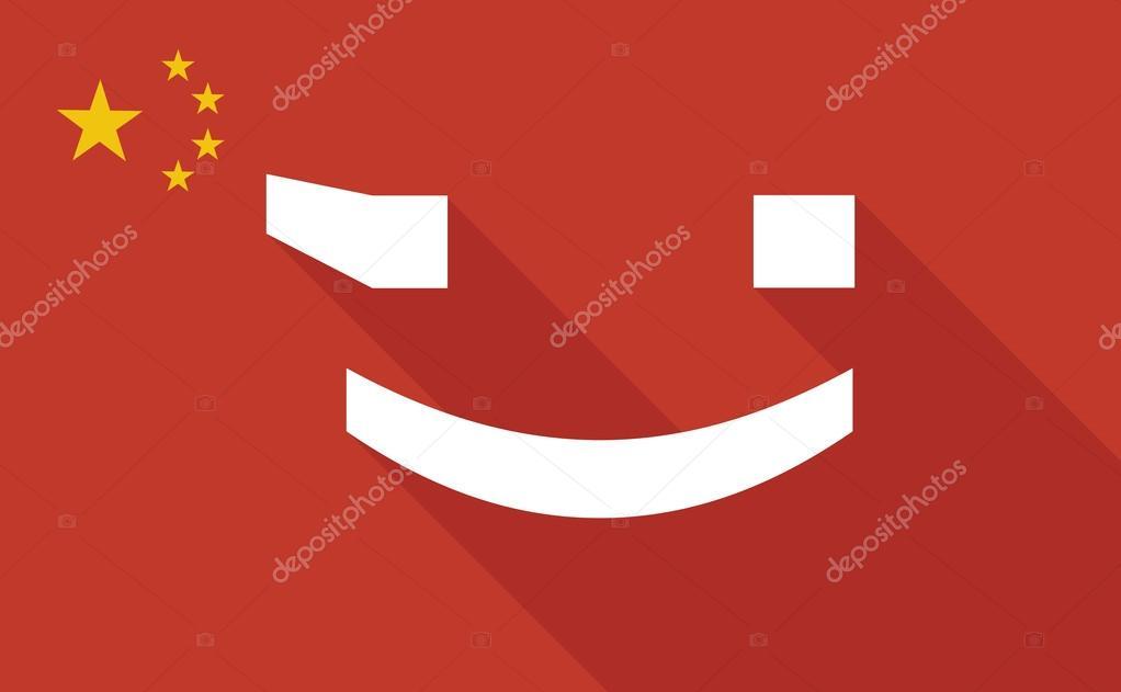 Bandeira de angola emoji | Bandera de la larga sombra de