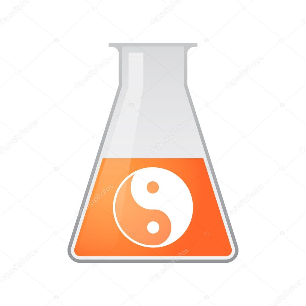 営養と化学のテスト チューブ — ...