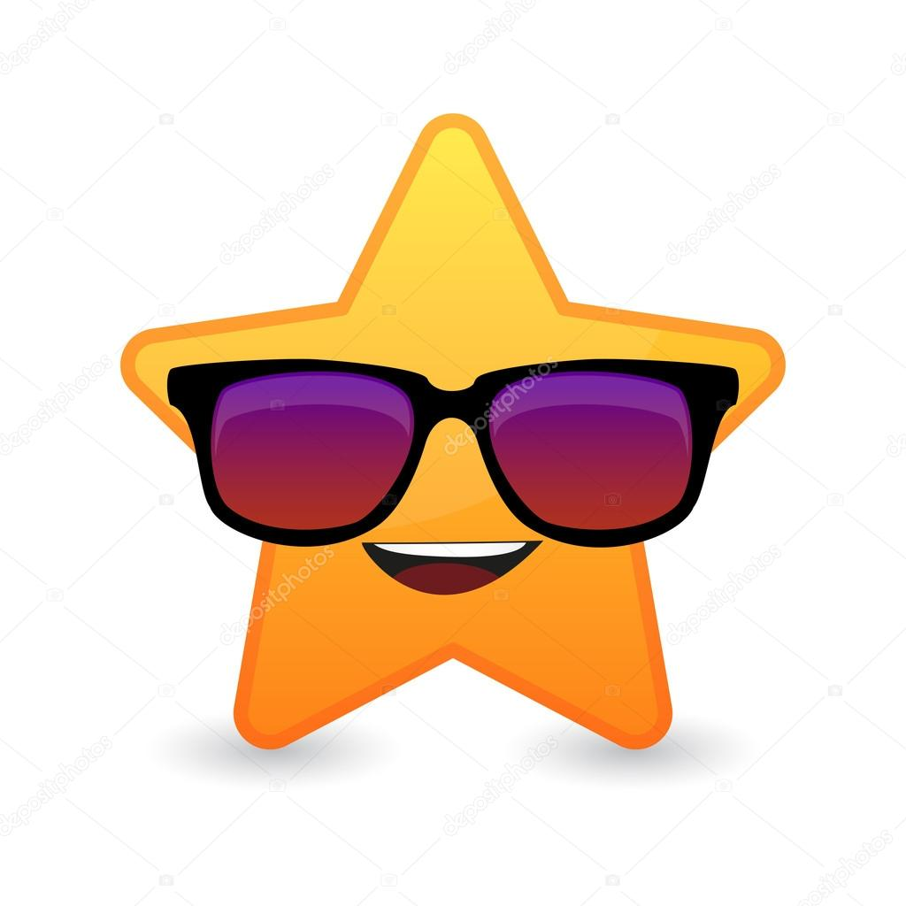 Lindo Avatar Estrela Usando óculos