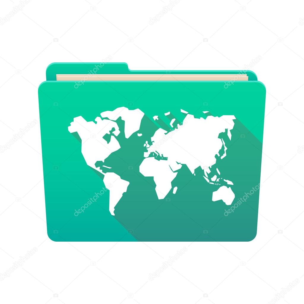 Folder icon with a world map — Stock Vector © jpgon #72488869 on world map terrain, simple world map vector, world map outline vector, world map with symbols, world globe vector, world map social media icons, world map silhouette vector, world map to color, usa map icon vector, world map vector art, flat world map vector, world map vector ai, world icon no background, vintage map clip art vector, world map infographic element, us map vector, world map background vector, world map outline eps, world map clip art,