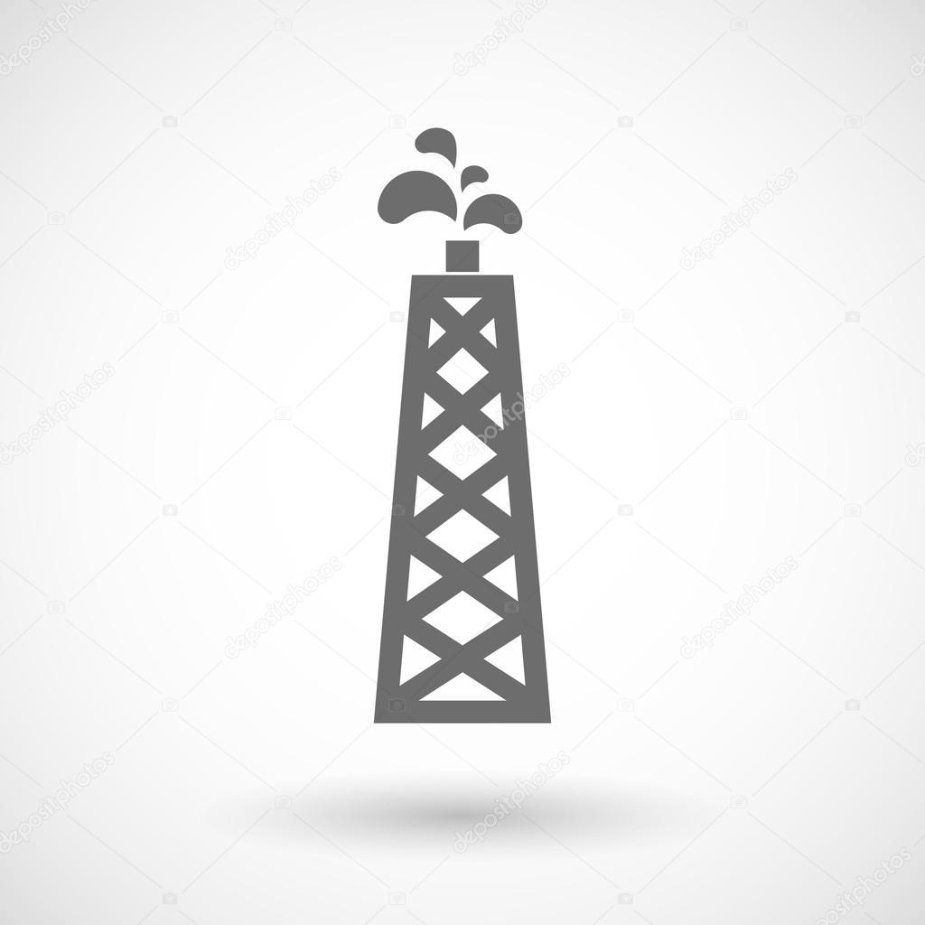 Beispiel für einen Öl-Turm — Stockvektor © jpgon #88226944