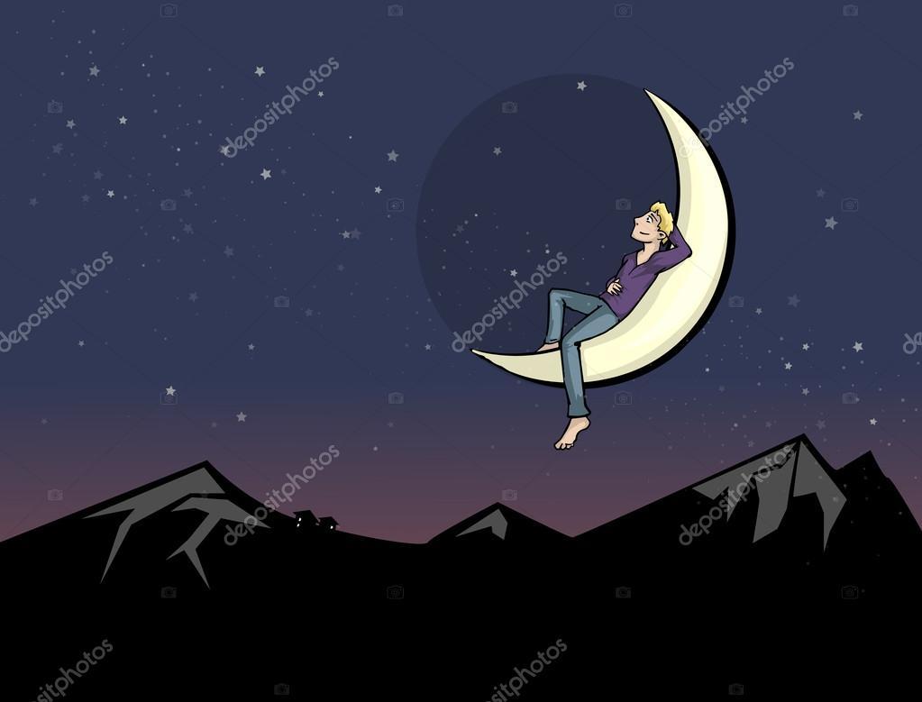 двух человек на луне рисунок пальто демисезонное, начало