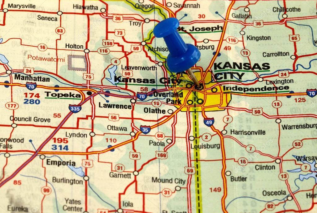 Kansas City in den usa — Stockfoto © bobby22 #88054606