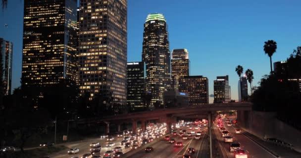 Los Angeles města na dálnici