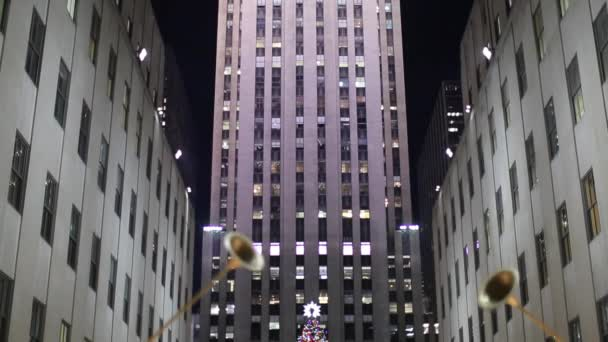 Rockefeller Center and Christmas tree