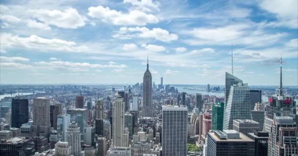 Manhattan buildings skyline