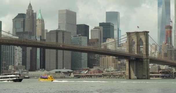 New york city Brooklynský most