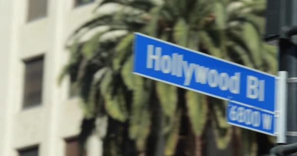 Hollywood blvd značení
