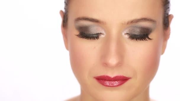 Kavkazská ženský obličej
