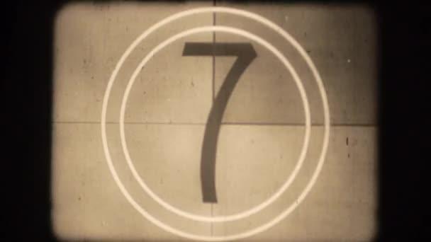 Vintage Film Countdown