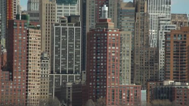Městské budovy v New Yorku