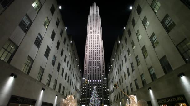 Rockefeller Center and Christmas tree