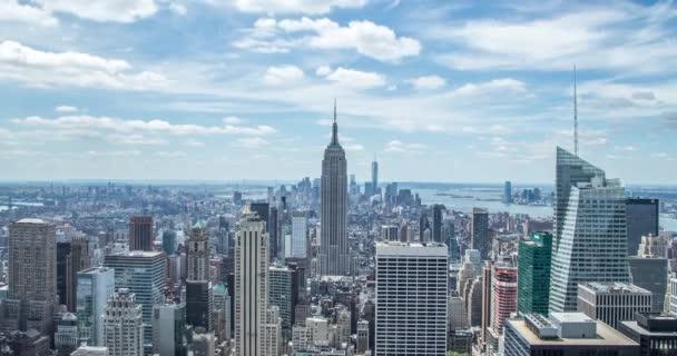 panorama Manhattanu budov