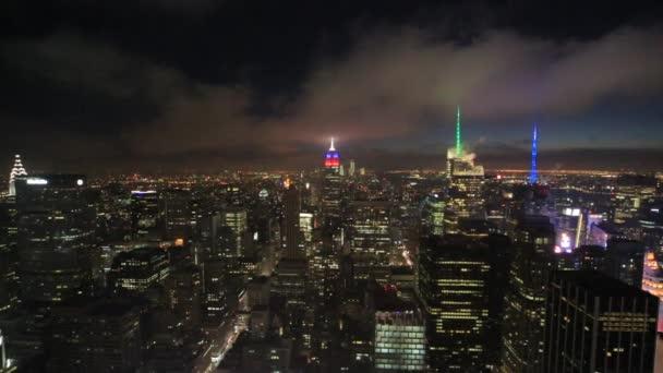 orizzonte di Manhattan di edifici