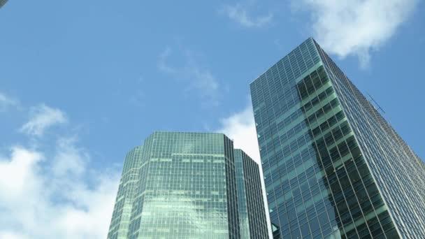 mraky Posuň kancelářských budov