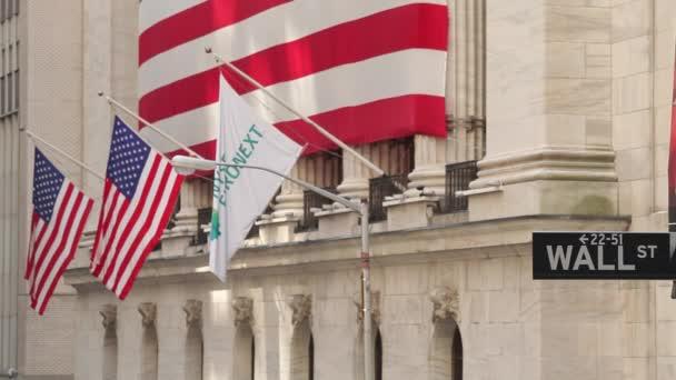 Wall Street znamení s Nyse