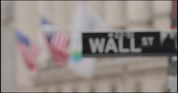 Wall Street ukazatel s Nyse