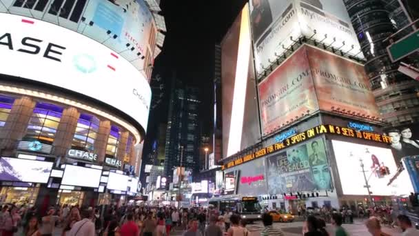 people walking in Times Square