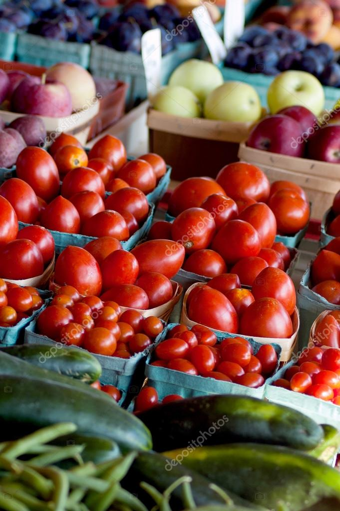 Healthy fruit and veggie choices