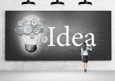 Having new idea