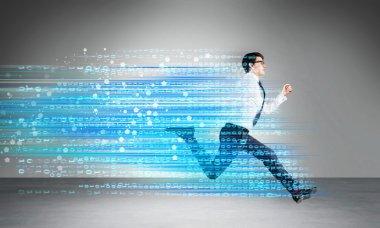 Success concept digital code