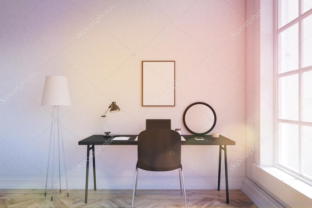 Gemütlichen Arbeitsplatz zu Hause — Stockfoto © denisismagilov ...