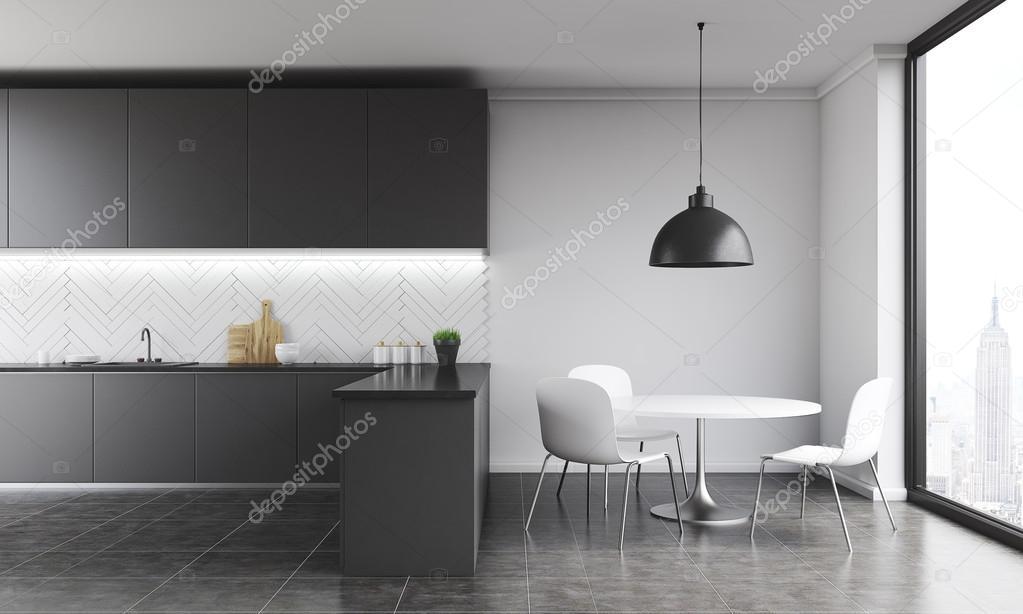 Moderne Küche in New York — Stockfoto © denisismagilov #117470004