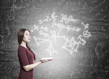Future woman scientist