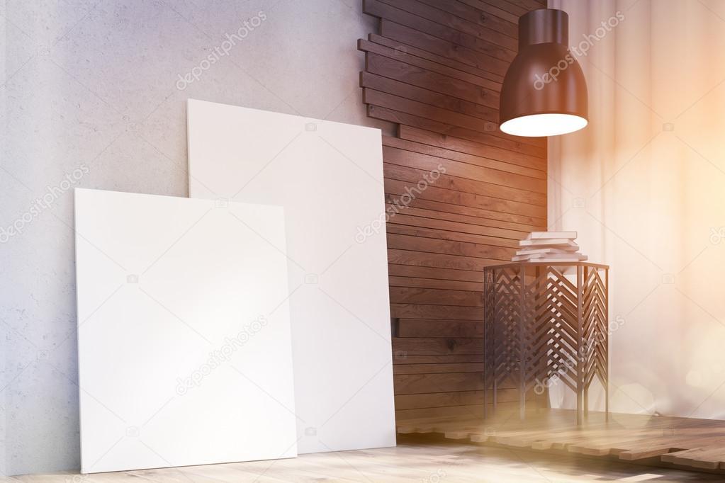 Artistieke kamer interieur — Stockfoto © denisismagilov #118950022