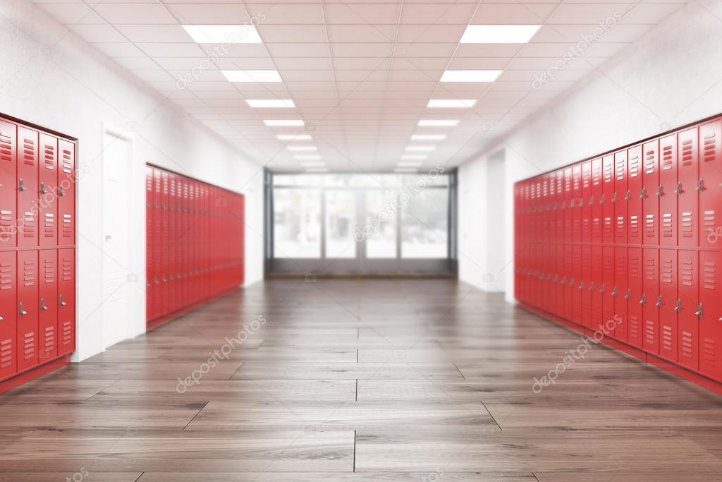 High School-Lobby-Interieur — Stockfoto © denisismagilov #119785620