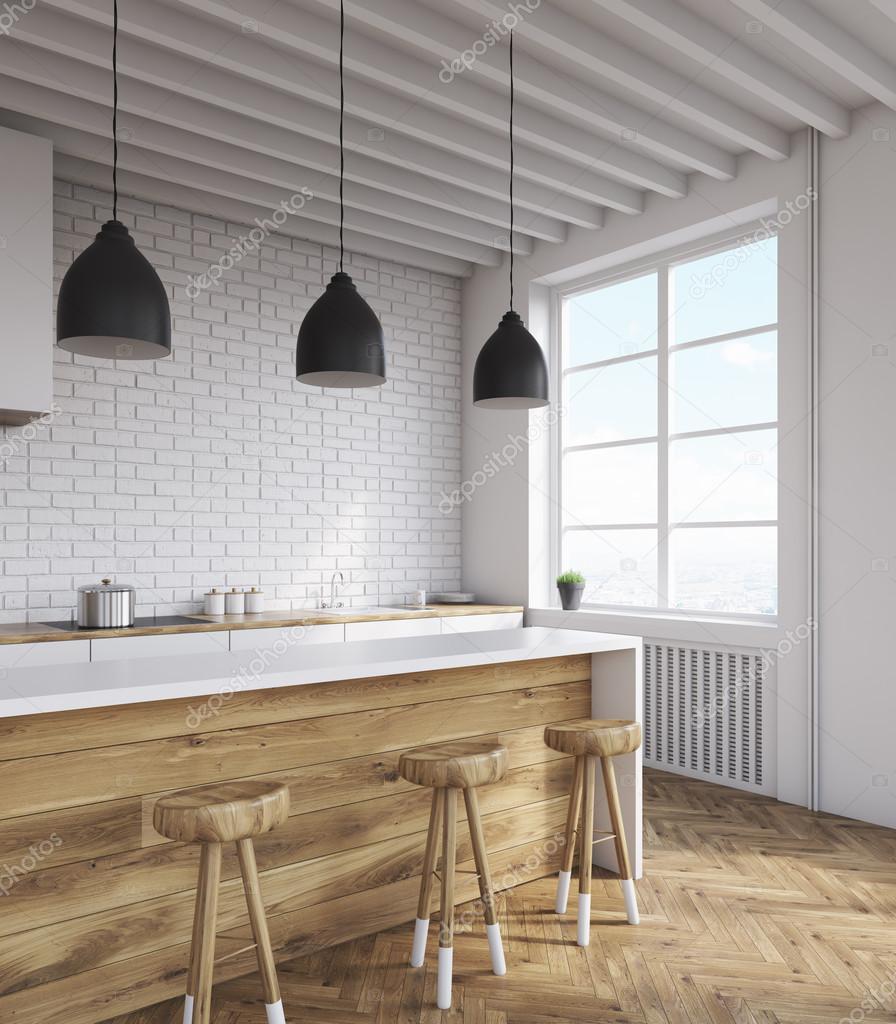 Kök med stora fönster — Stockfotografi © denisismagilov #122990552 : stora fönster : Fönster
