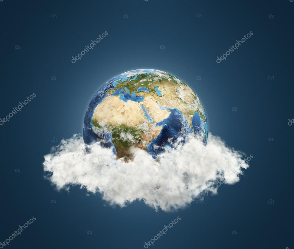Earth, Africa view.